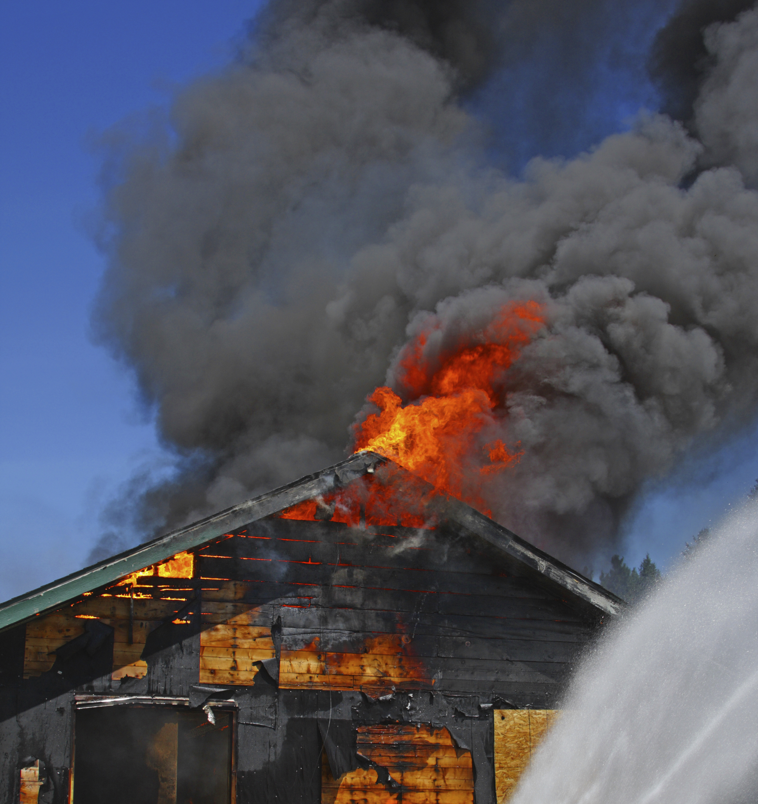how to clean up fire damage
