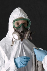 Mold removal protective equipment